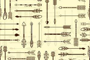 American Indian Arrows Pattern