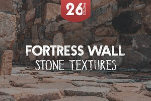 Fortress wall - stone textures