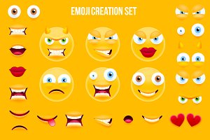 Emoji Creation Set