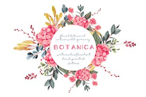 Botanica - watercolor set