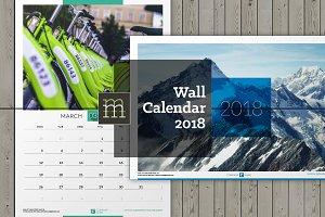 Wall Calendar 2018 (WC014-18)