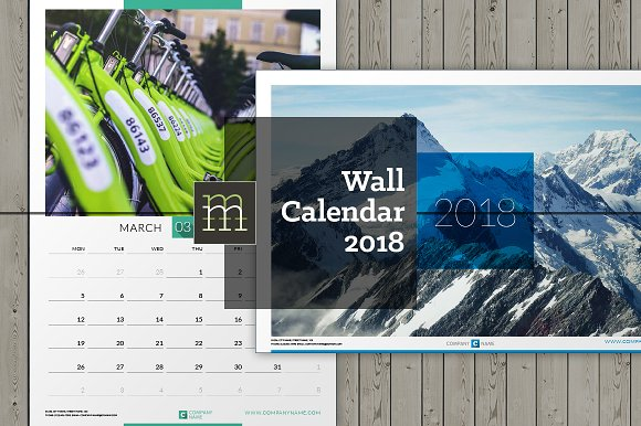 Wall Calendar 2018