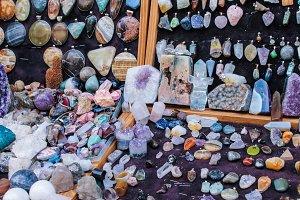 Minerals  Jewelery