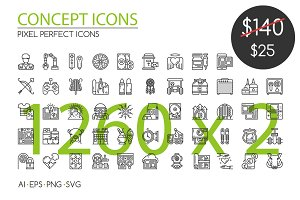 1260 CONCEPT ICONS