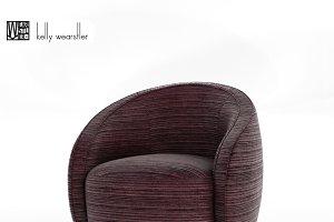 Kelly Wearstler Swivel Chair