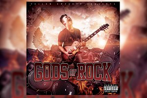 Mixtape Covers Art - Gods of Rock