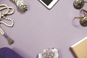 Yoga Vibes on Lavender