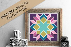 Abigail Barn Quilt cut file