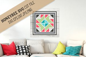 Madison Barn Quilt cut file