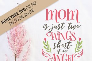 Mom Two Wings Short cut file