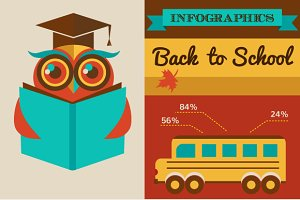 Back to school - infographics