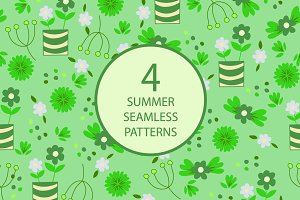 4 summer seamless pattern №2