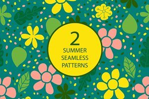2 summer seamless pattern №1