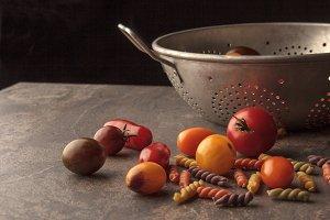Fresh Tomatoes and Seive
