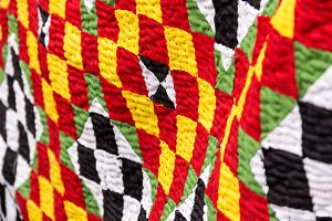 Bright Colored Quilt