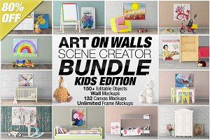 Art On Walls Scene Creator Bundle V3