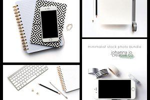 Minimalist Styled Stock Photo Bundle