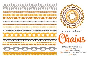 Chains Vector Set