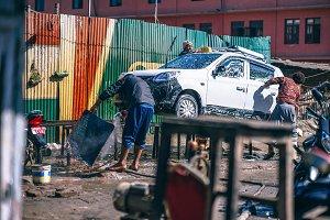 Kathmandu Car Wash