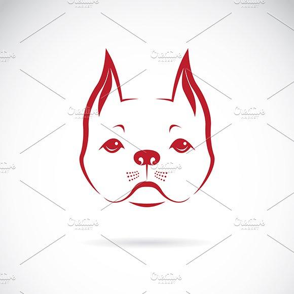 Vector Of A Dog Face