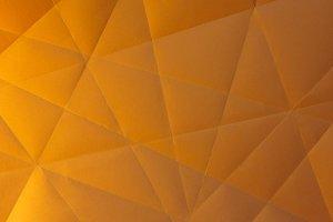 handmade paper polygons