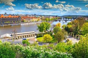 Amazing Prague panorama