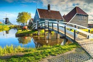Zaanse Schans dutch village