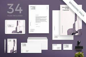 Branding Pack | Concert