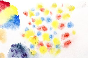 watercolor abstraction