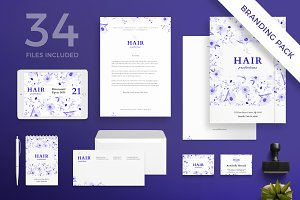 Branding Pack | Hair Productions