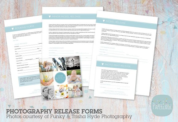 NG006 Photography Release Forms