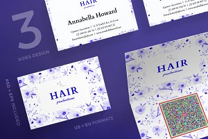 Business Cards | Hair Productions