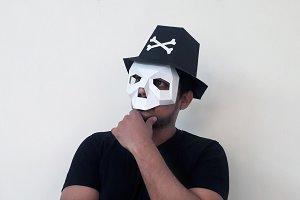 DIY Skull Hat - 3d papercrafts