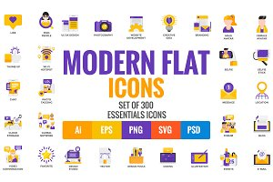 Big Collection of Modern icons