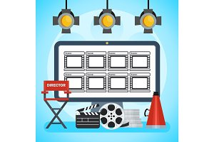 video production poster