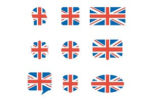 english flag icons