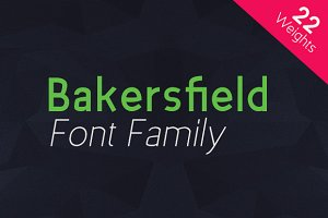 Bakersfield - Font Family