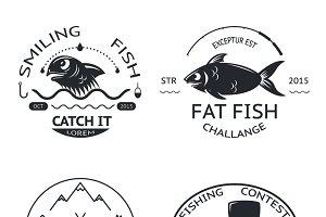 Fishing emblems