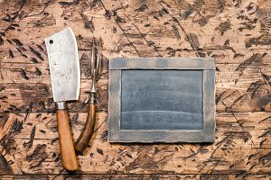 Vintage Meat cleaver