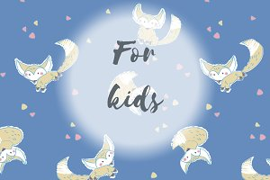"Patterns for kids ""Foxes"""