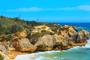 Atlantic coast view, Algarve