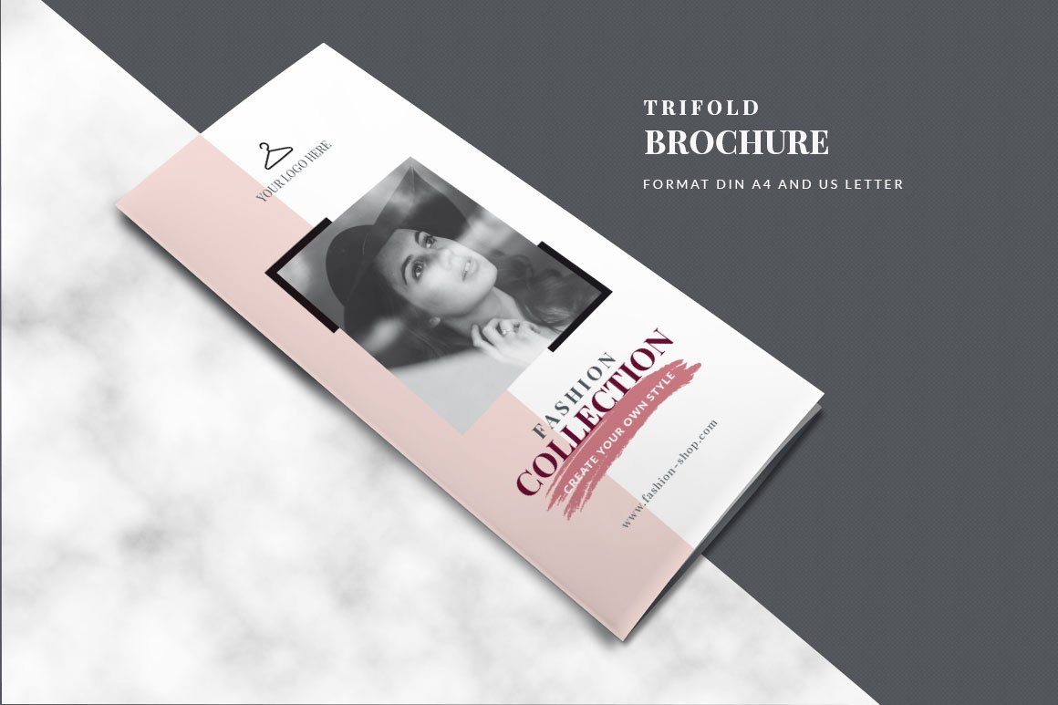 Modern trifold brochure brochure templates creative market magicingreecefo Image collections
