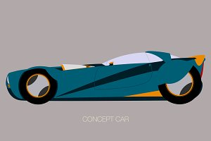 coupe concept car