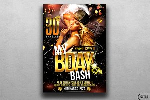 My Birthday Bash Flyer Template