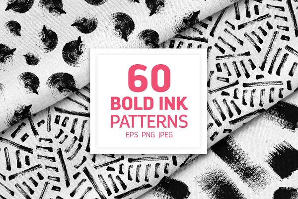 60 Bold Ink Patterns