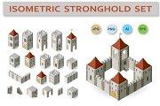 Fortress isometric set
