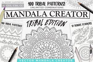Tribal Mandala Creator