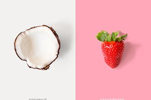 Coconut & Strawberry