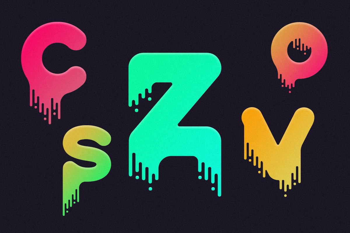Drip - Liquid Font ~ Display Fonts ~ Creative Market