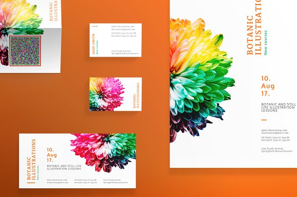 Print Pack Botanic
